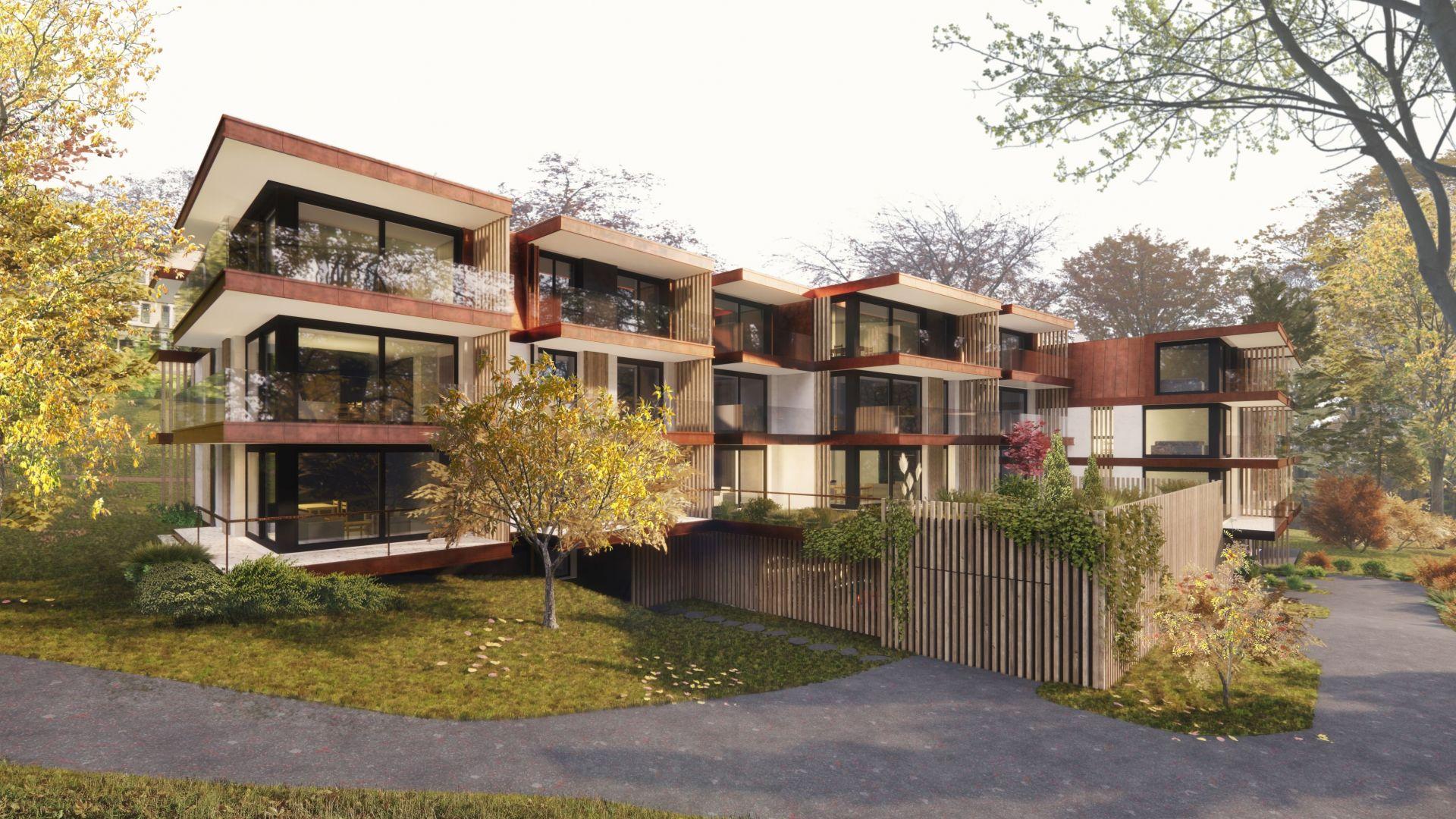 Lausanne C. de la Vuachère - Projet de 30 appartements de haut-standing 2021/2022