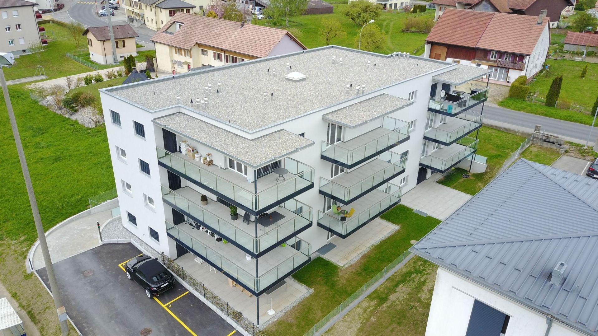 Siviriez - 19 appartements - Projet terminé