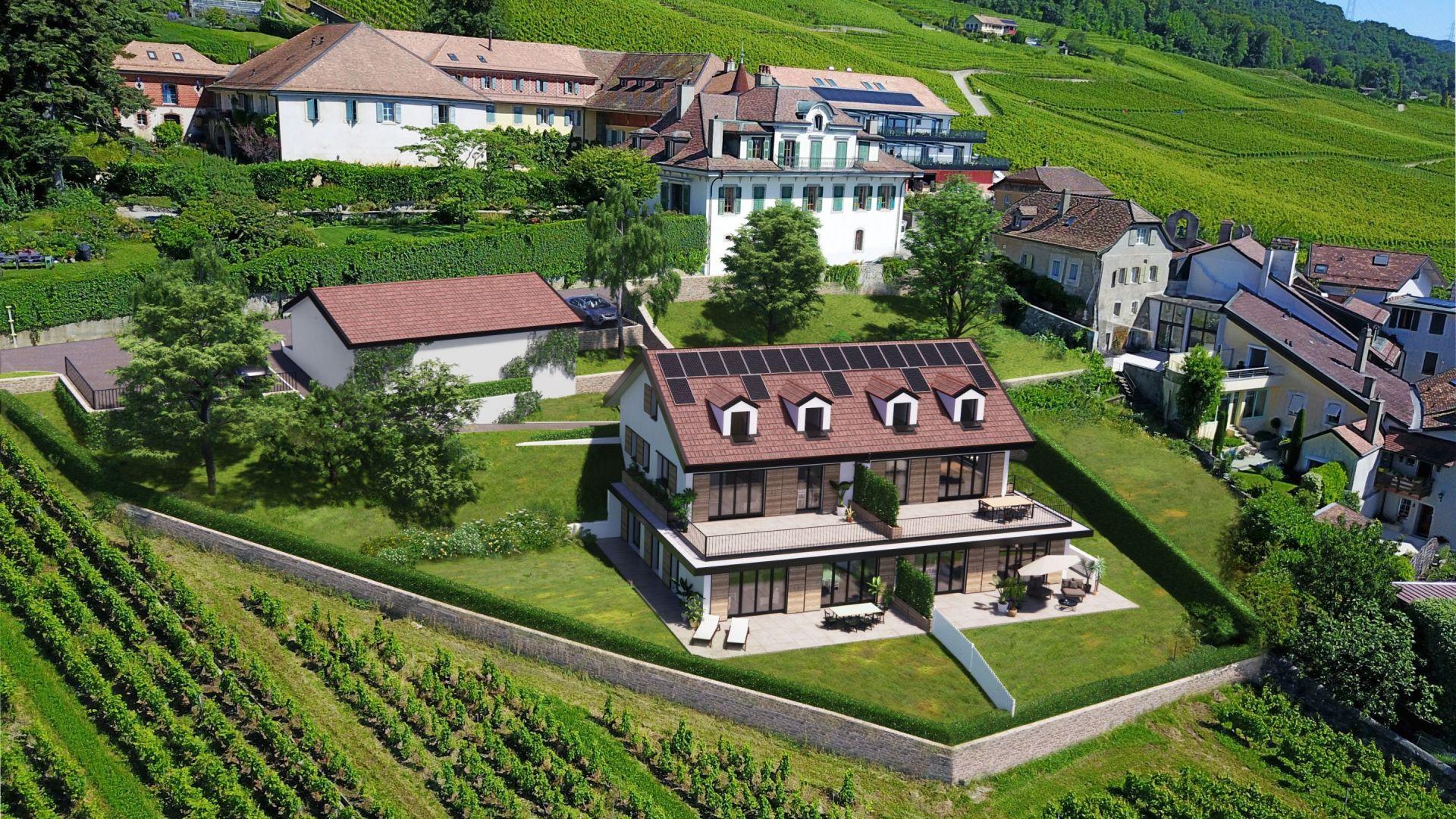 Vinzel - Les Terrasses du Château - Projet de 4 appartements de standing - Livraison début 2022