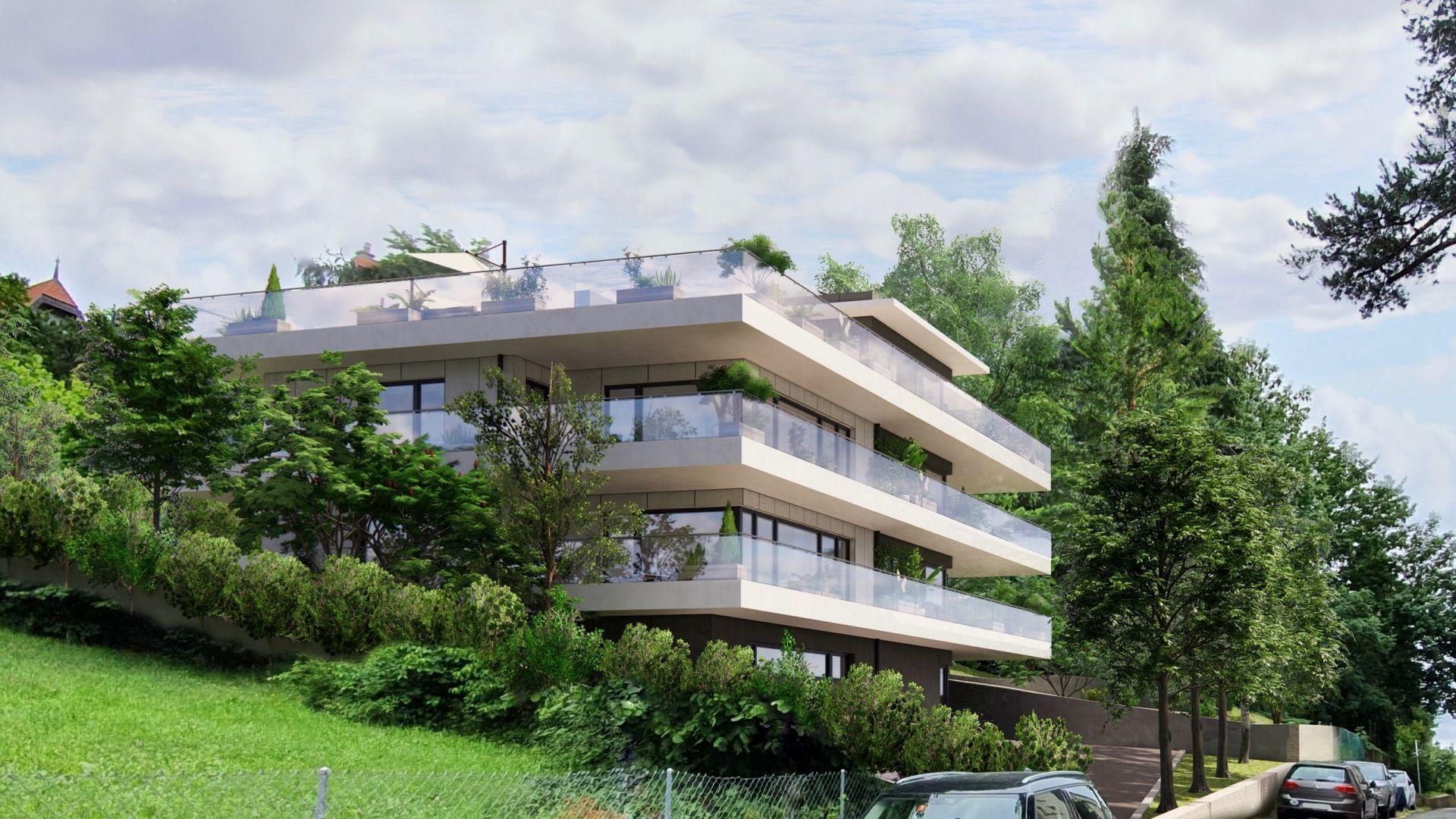 Lausanne Tribunal Fédéral - Projet de 5 appartements de haut standing - 2021/2022
