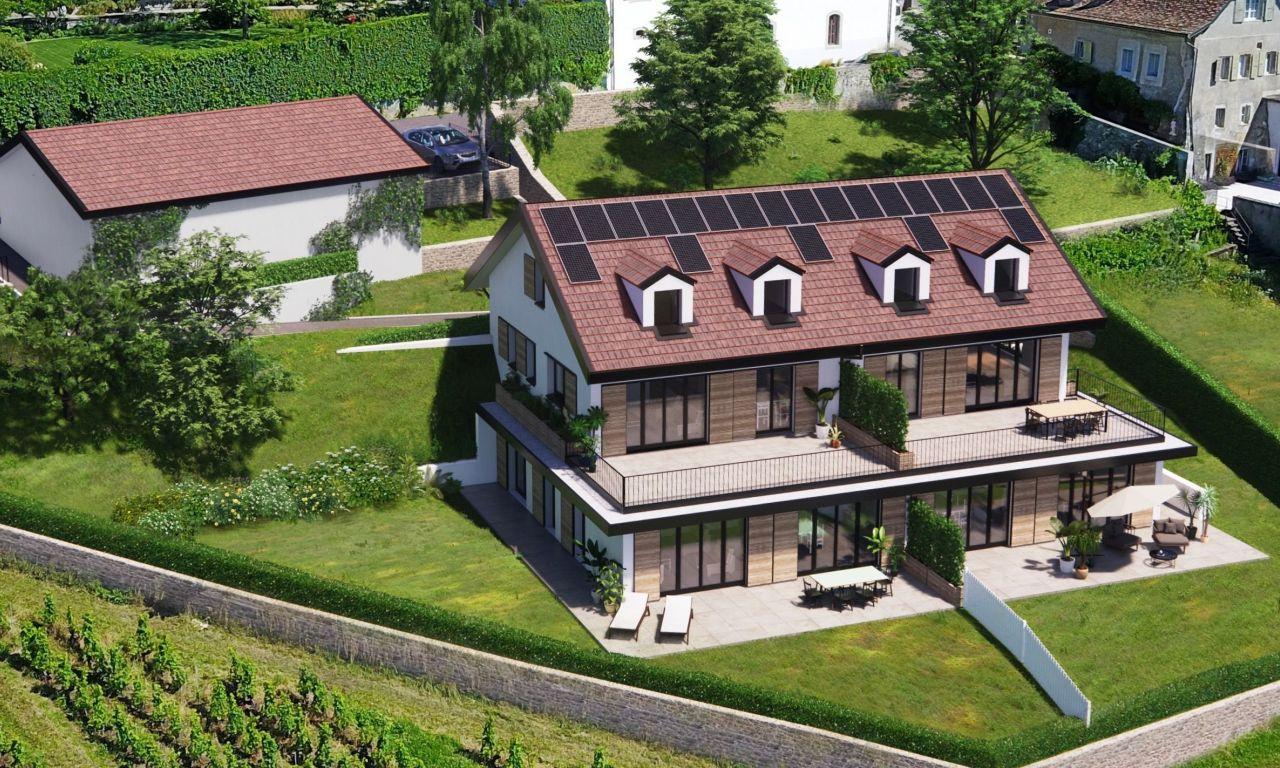 LOT VENDU - Vinzel - Les Terrasses du Château - Lot 4 - 5.5 pièces - Duplex
